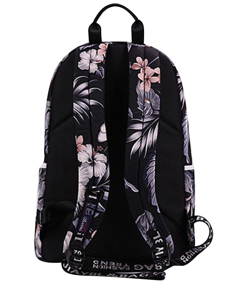 Mujer Backpack Mochilas Escolares Mochila Escolar Grande Bolsa Casual Bolso Negro: Amazon.es: Equipaje