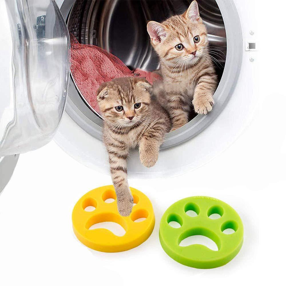 Womdee Furzapper 2-Pack para lavandería, removedor de Pelo para mascotas Furzapper de, herramienta removedor de Pelo para Perros y Gatos para Perros, ...