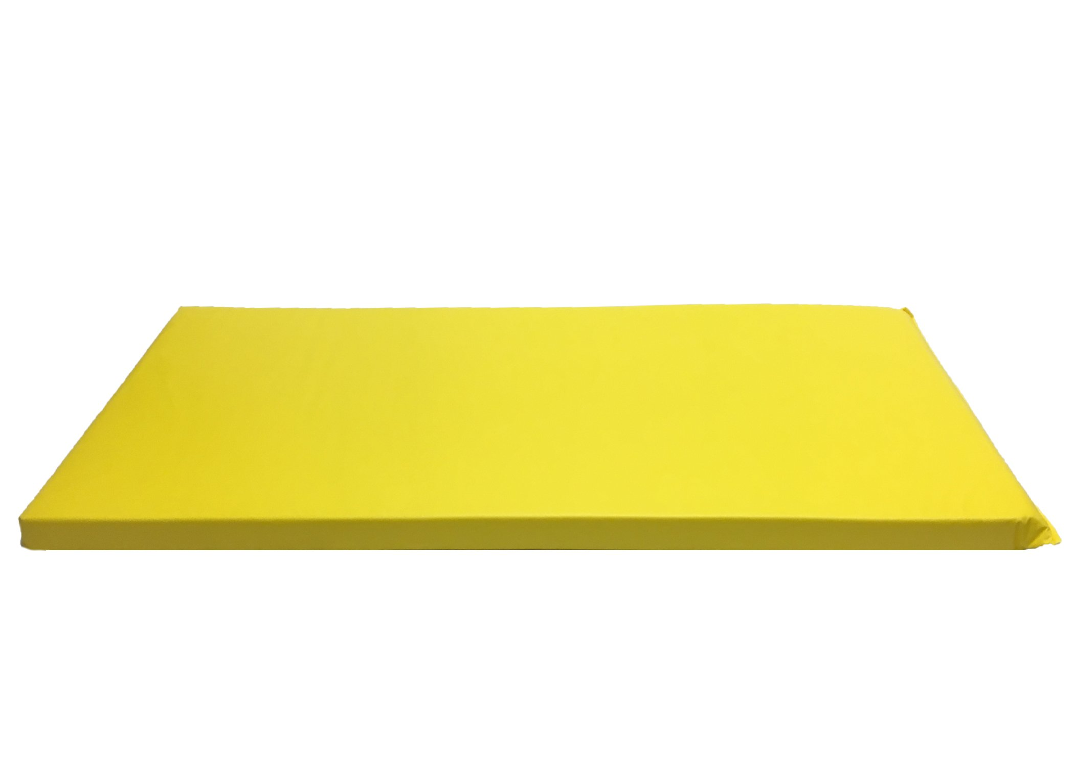 KinderMat, Rainbow Designer Mat, Yellow, 2-Inch Thick Rest Mat