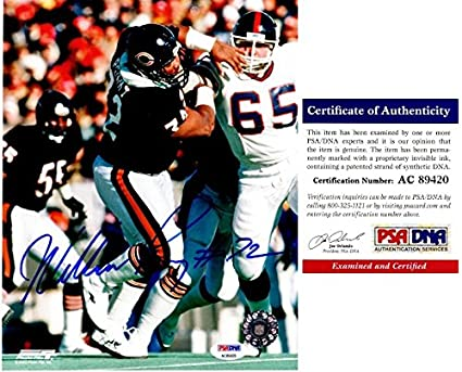 b939b8394b9 Image Unavailable. Image not available for. Color: William Perry Signed - Autographed  Chicago Bears ...