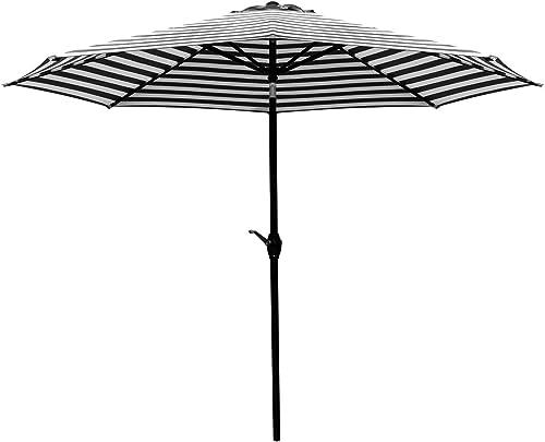 Greesum 9FT Patio Umbrella Outdoor Market Table Umbrella