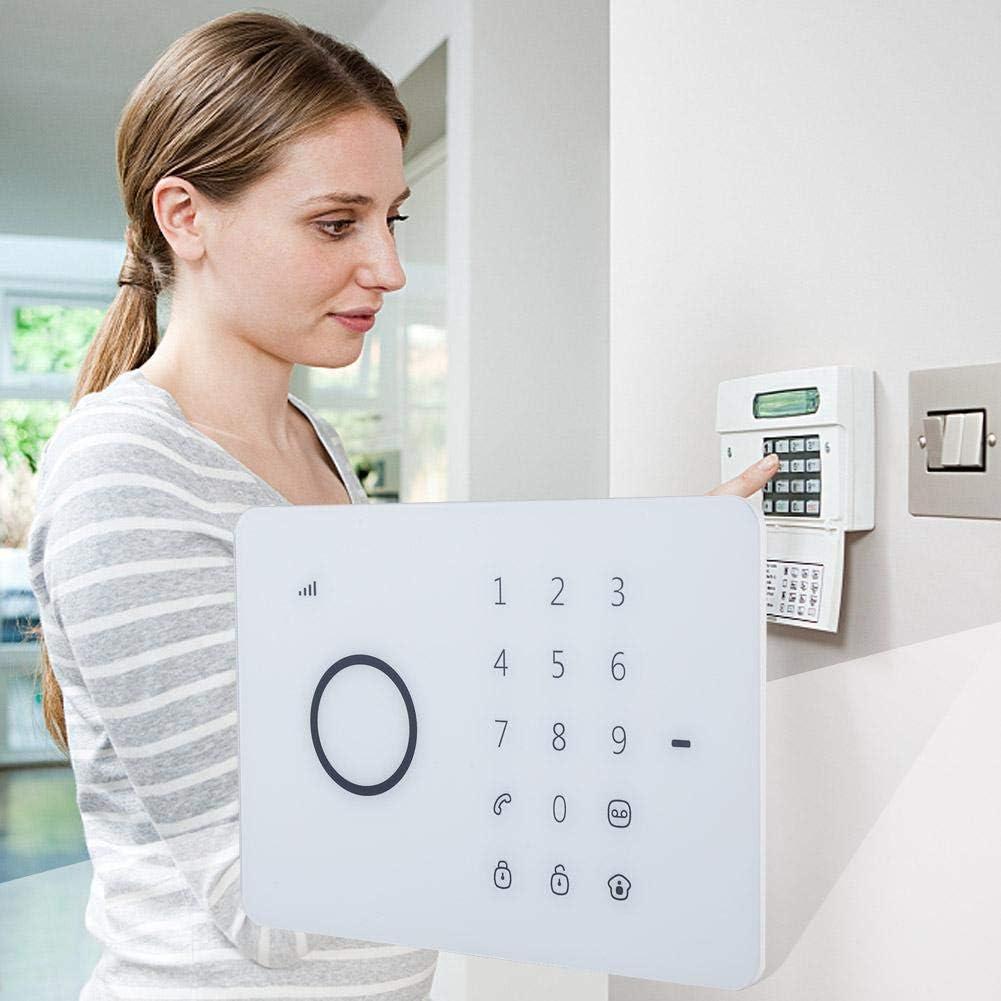 Syst/ème dalarme GSM sans fil Clavier tactile RFID Syst/ème de surveillance /à domicile Anti-cambrioleur//D/étection de mouvement//Composition automatique