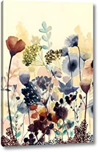 Sundry Blossoms I 2 By Grace Popp 10 X 16 Canvas Art Print Gallery Wrapped Ready To Hang Posters Prints Amazon Com
