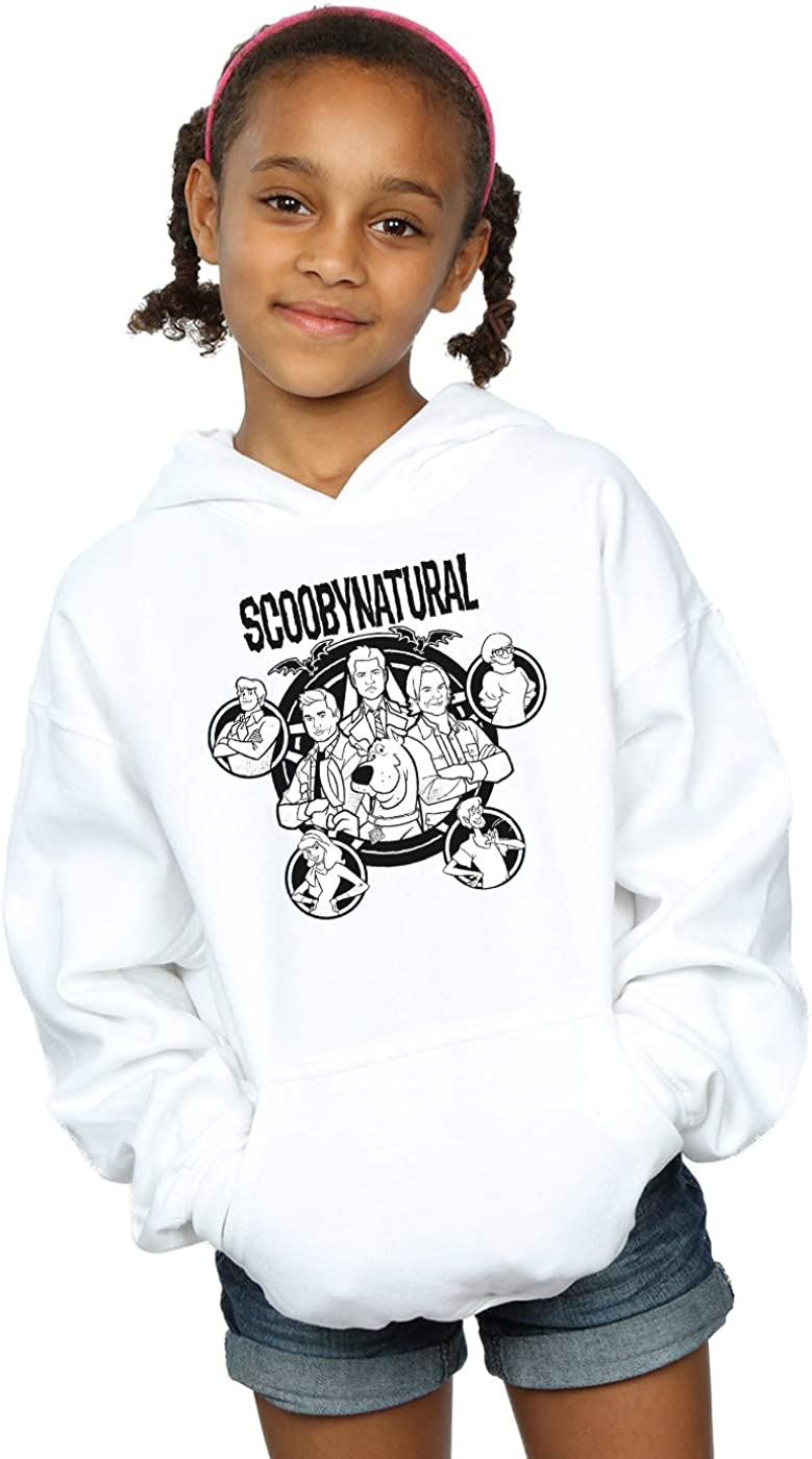 Absolute Cult Scoobynatural Girls Mono Characters Hoodie