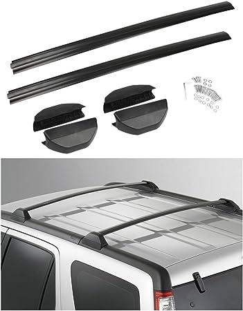 Car Roof Rack Top Side Rails Cross Bar Carrier Aluminum For Honda CRV 2002-2006