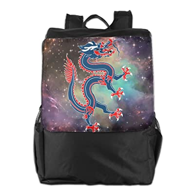Chinese Dragon Convenient Lightweight Travel Hiking Backpack Daypack Gift 60%OFF
