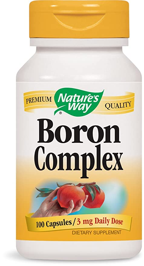 Boron Chelate, 3 mg, 100 Capsules