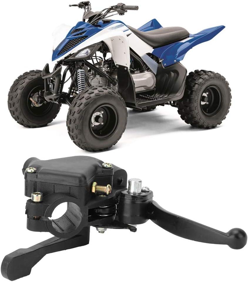 Duokon 22mm Leva freno moto leva freno doppio acceleratore pollice adatta per mini 2 tempi ATV quad 4 ruote 43cc 47cc 49cc