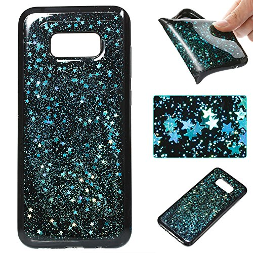Silicone Case for Samsung Galaxy S8 Plus, Samsung Galaxy S8 Plus Silicone Case Cover, EUWLY Ultra Thin TPU Silicone Slim Cover Case Soft Gel Cover Skin, Ultra Slim Flexible Soft Gel Protective Case TP Blue-green