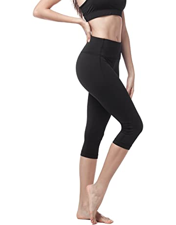 88becd25ced8 LAPASA Mallas Deportivas 3/4 Capris de Mujer (Leggings para Yoga, Pilates,