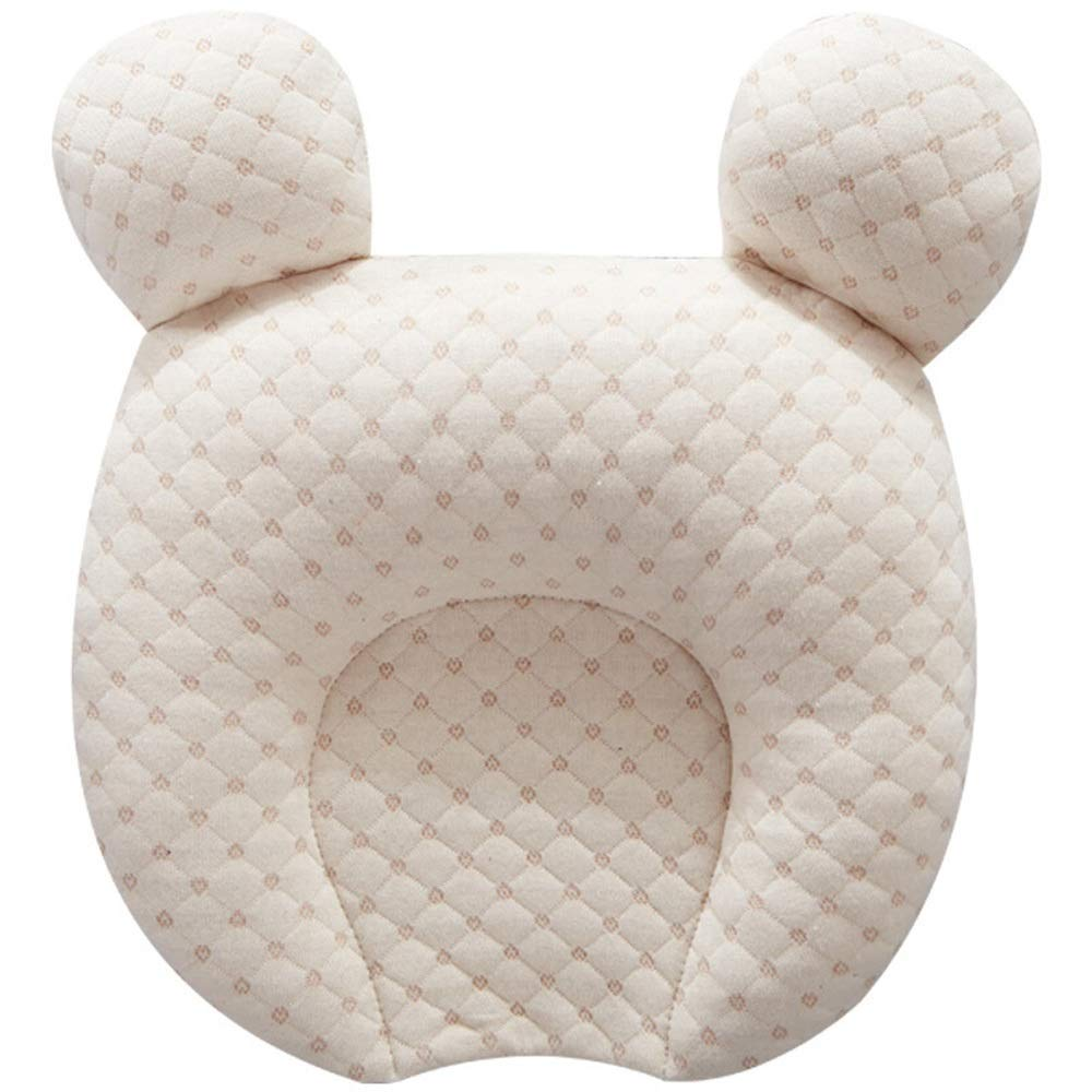 LS Latex Pillow - 0-1 Year Old Newborn Head Correction Color Cotton Latex Baby Pillow