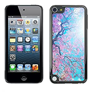 Hot Style Cell Phone PC Hard Case Cover // M00102126 spring blooming nature // Apple ipod Touch 5 5G 5th