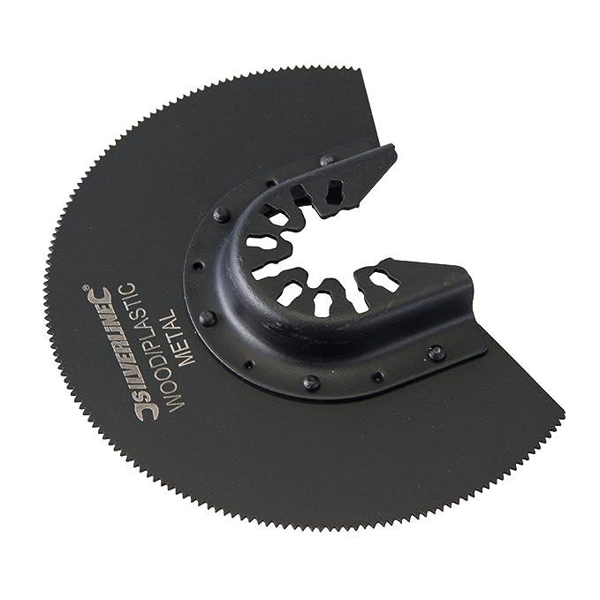 Silverline 557277 HSS Lame de scie segment 88 mm