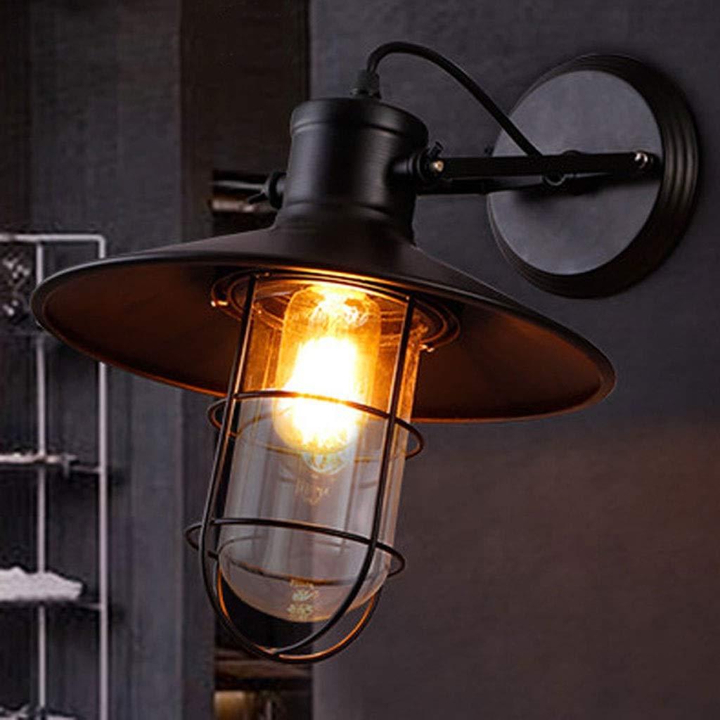 Wandleuchten Sconce Pot Deckel Industrial Vintage, Restaurant, Farm Retro Dekoration Leuchte