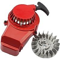 GOOFIT Arranque Minimoto, Tirador Aluminio con Volante Motor