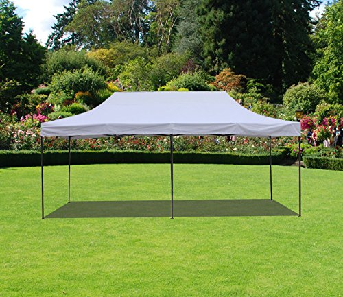 American Phoenix 10x20 Multi Color and Size Portable Event Canopy Tent, Canopy Tent, Party Tent Gazebo Canopy Commercial Fair Shelter Car Shelter Wedding Party Easy Pop Up (White, 10x20) (Gazebo Shelter)