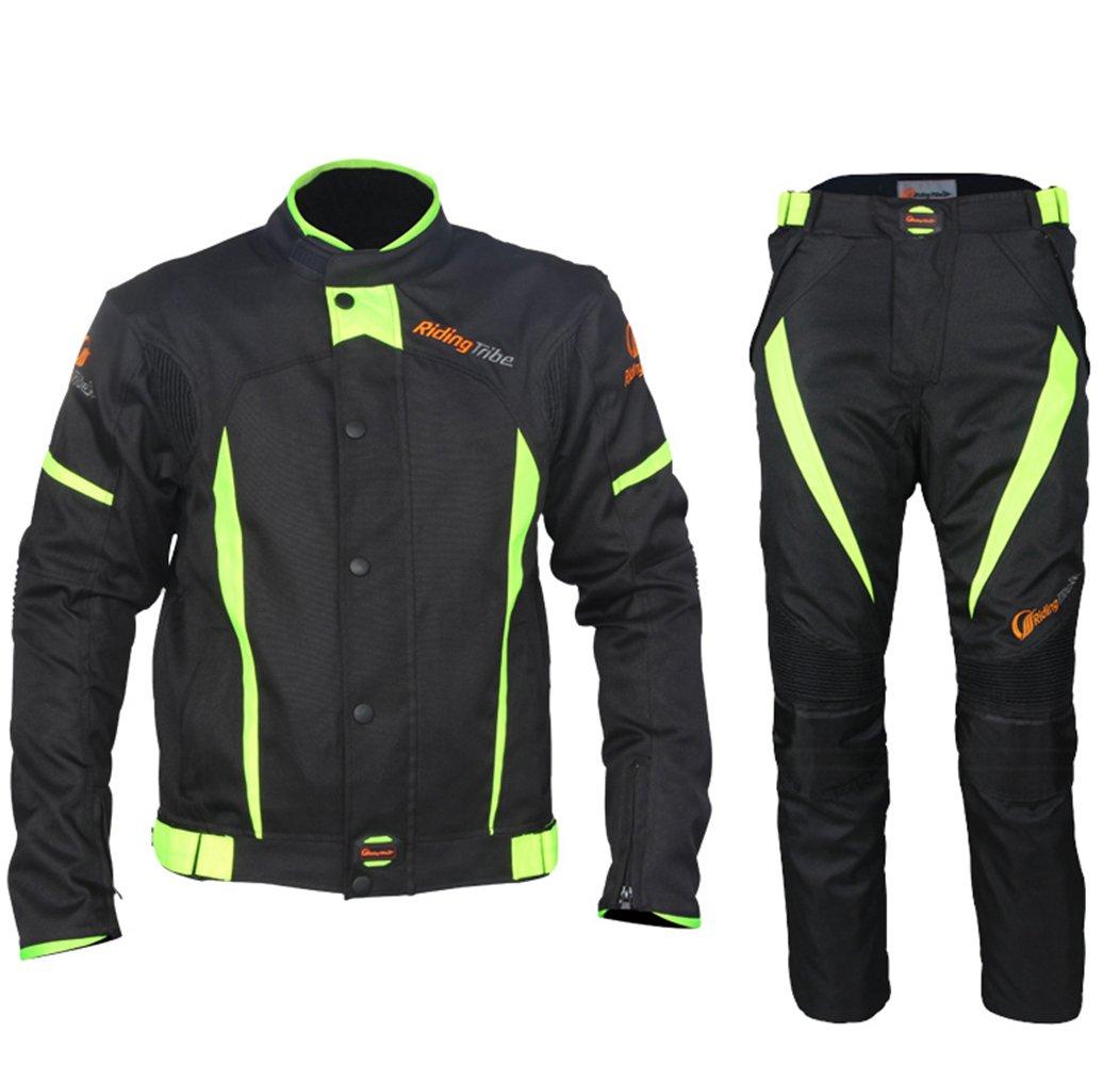 Motorcycle Winter Warm Jacket Pants Suit Motocross Racing Protective Armor, XL