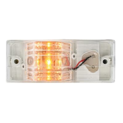 Grand General 78608 Side Mount Amber/Clear 9-Led Marker/Turn Light with Plug: Automotive [5Bkhe1008390]