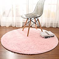 Junovo Super Soft Thick Anti Skid Fluffy Round Children Area Rug For Living  Room Bedroom