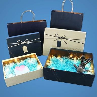 Caja de regalo rectangular Zapatos de cumpleaños sencillos ...