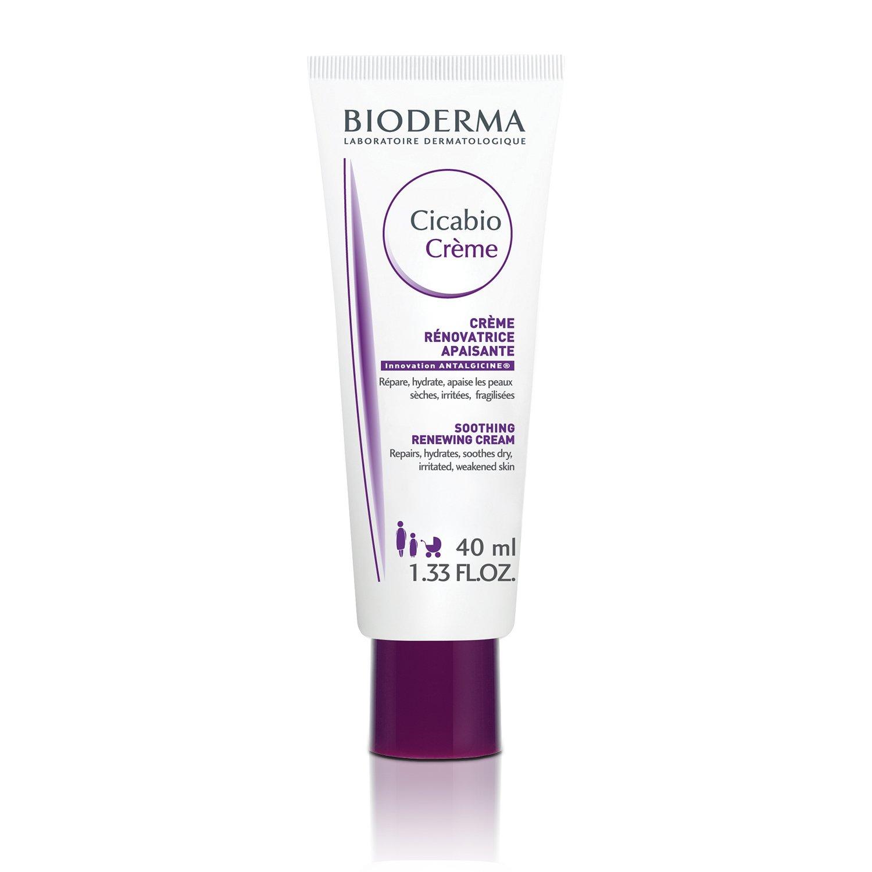 Bioderma Cicabio Soothing Repairing Cream for Dry Skin - 1.33 fl. oz.