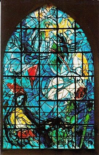 Vintage Unused Postcard John D. Rockefeller Jr. Memorial Window at Union Church of Pocantico Hills North Tarrytown, New York (Union Vintage Postcard)