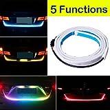 Botepon 48'' Universal 5 Functions Car LED Tail Strip Light, Tailgate Rear Lights Bar Strip 12V for Running Light, Turn Signal Light, Brake Light, Reverse Light, Double Flash Light