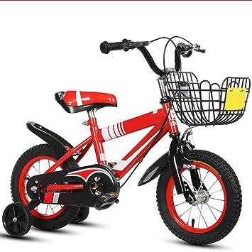 XBNH Bicicleta para Niños 3 Años De Edad Bicicleta para Niños 12/14/16