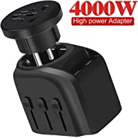 Yvelines International Travel Power Adapter with 2 USB Charging Ports