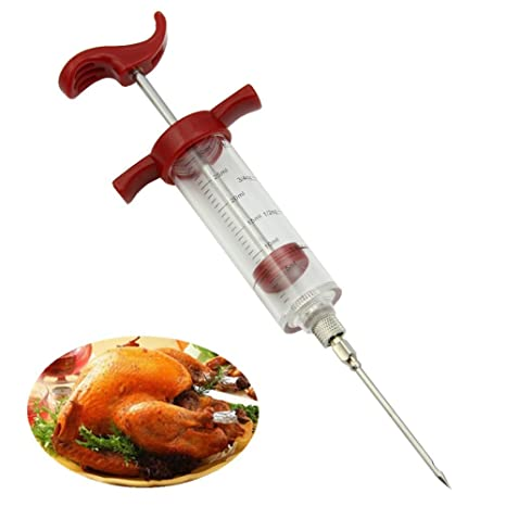 HeroNeo Jeringa de cocina para inyectar salsas en los rellenos