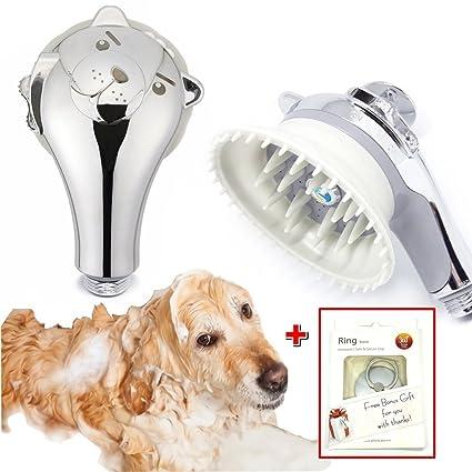 Amazon Com Puppy Shower Head Massager Pet Perfect Wash Massage