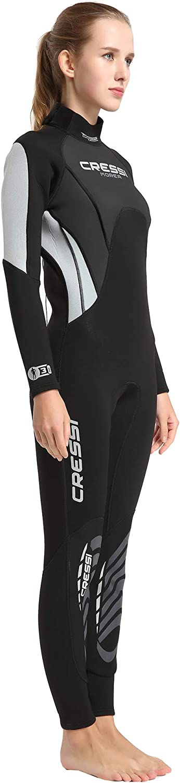 Cressi Morea Lady Monopiece Wetsuit 3mm Traje de Buceo Neopreno Mujer