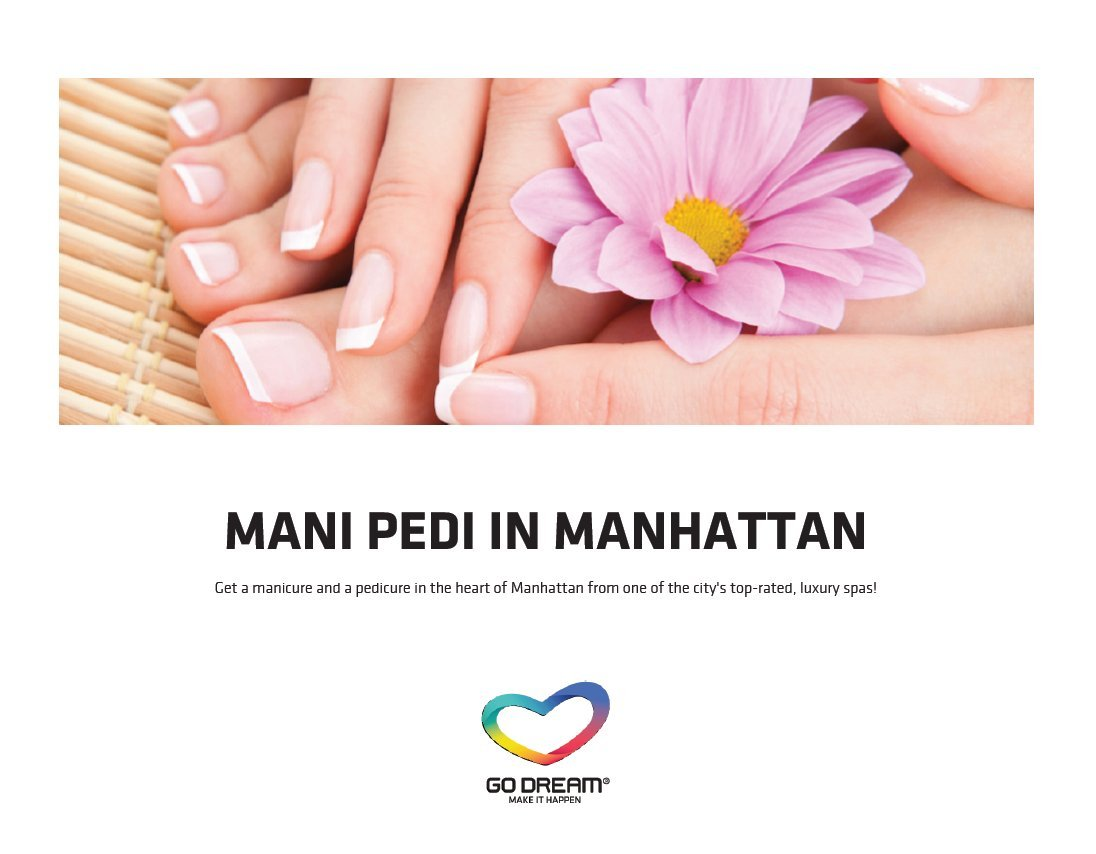 Amazon.com: Manicure & Pedicure in New York Experience Gift Card ...