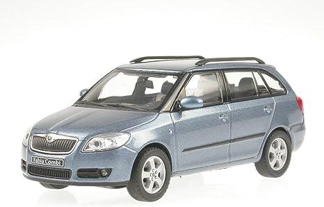 Skoda Fabia 2 Combi Satingrau Model Car Abrex 1 43 Spielzeug
