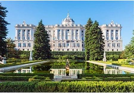 Rompecabezas Rompecabezas Palacio Real De 1000 Piezas En Madrid España Visto Desde Los Jardines De Sabatini para Un Amigo Adulto: Amazon.es: Hogar