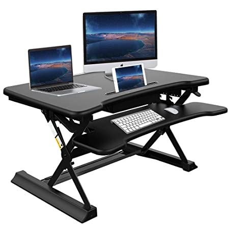 victor adjustable collection amazon high standing with converter desk astounding design com rise