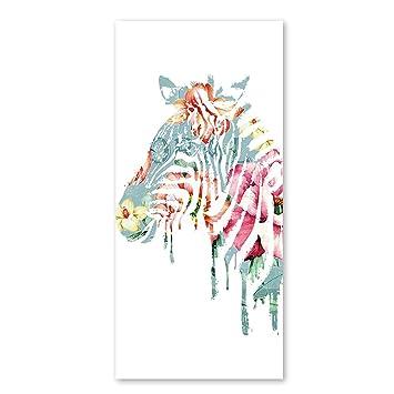 Blanco caballo de dibujos animados toallas de baño de microfibra toalla de playa de Coral de ...