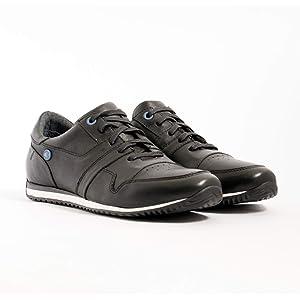 VÉLEZ Genuine Colombian Leather Sneakers For Men   Zapatos Deportivos De Cuero