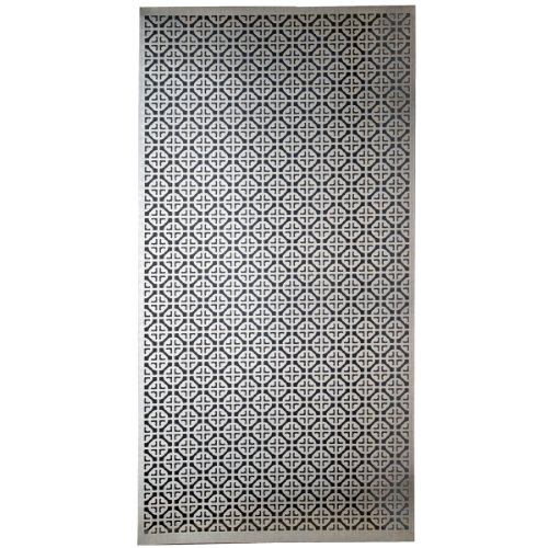 m d building products 57326 decorative mosaic aluminum sheet - Decorative Sheet Metal