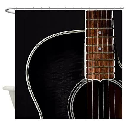 Image Unavailable Not Available For Color CafePress Guitar Shower Curtain