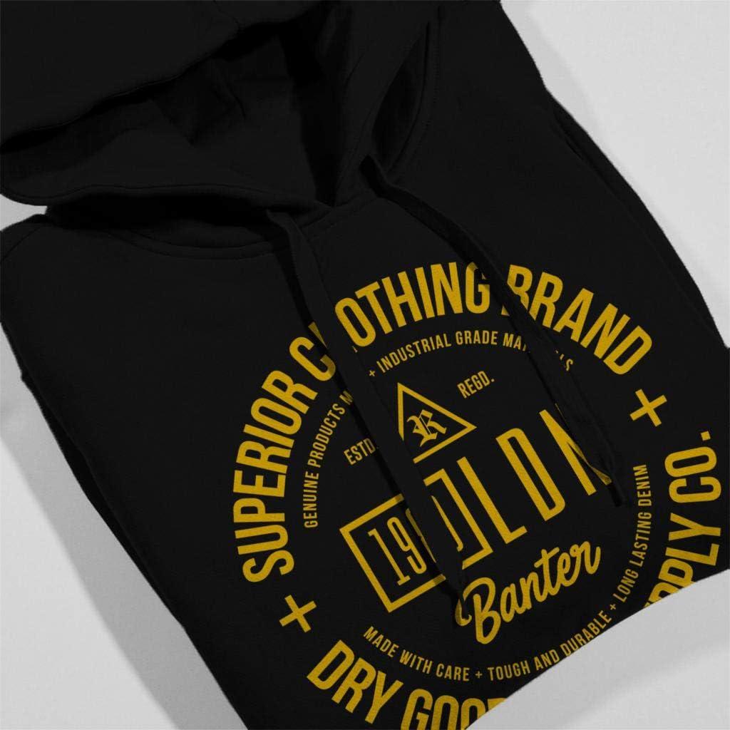 London Banter Superior Clothing Brand Women's Hooded Sweatshirt Black