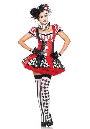 best sneakers fe249 09f75 Karneval-Klamotten Harlekin Clown Pierrot Frauen Damen ...