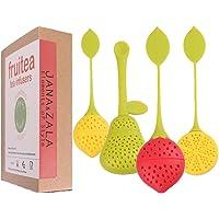 Fruitea infusores de té – 4 Silicona Infusor
