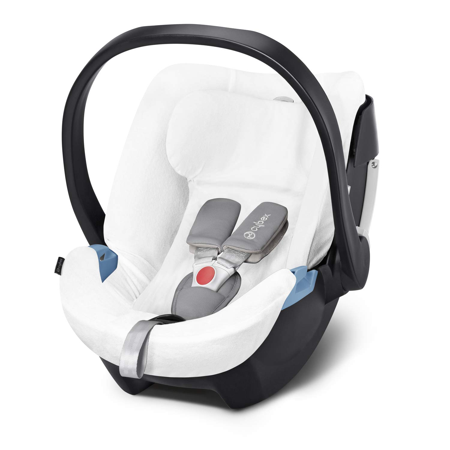 Cybex Summer Cover, For Cybex Infant Car Seat Aton 5, White