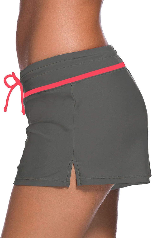 SATINIOR Damen Badeanzug Shorts Tankini Badehose Plus Size Bottom Boardshort Sommer Bademode Strand Trunks f/ür M/ädchen