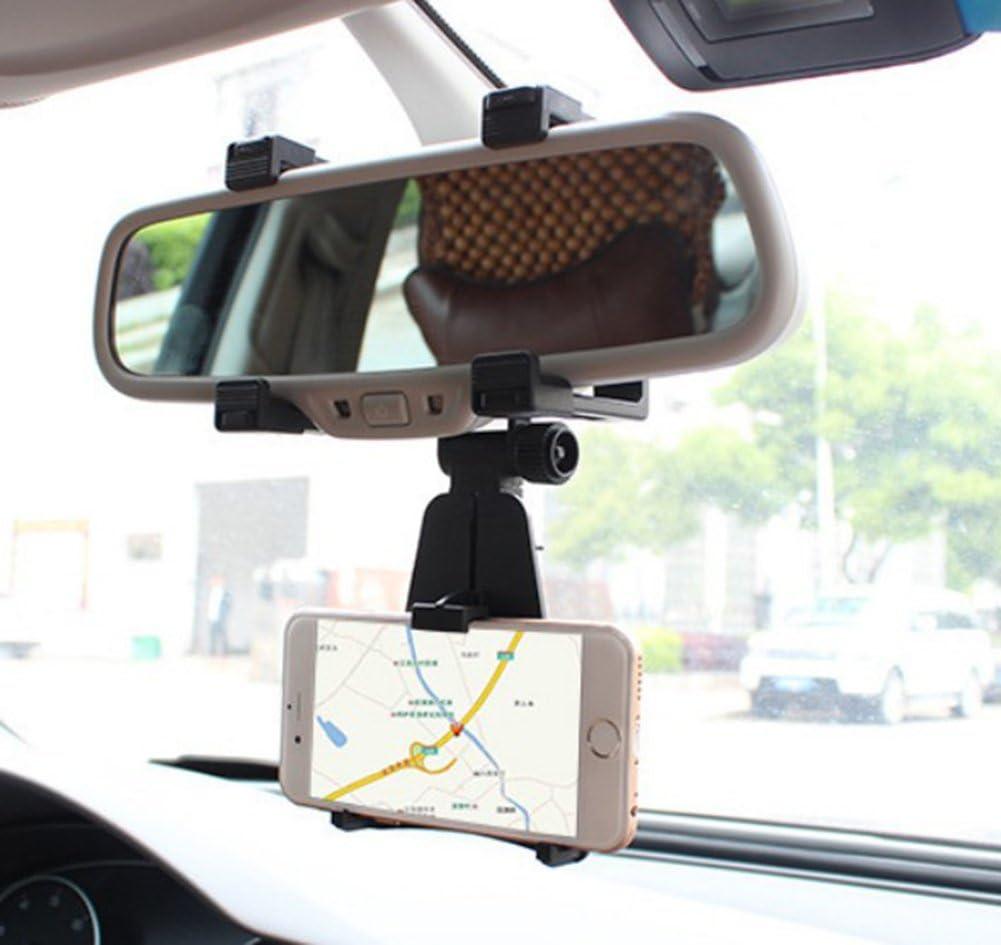 Daorier Handyhalterung Kfz Handyhalter Auto Rückspiegel Computer Zubehör