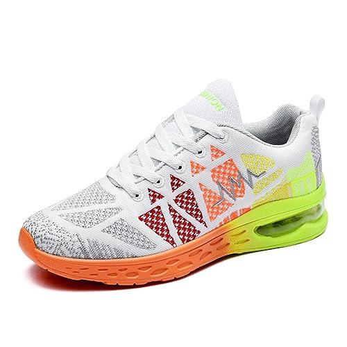 BAINASIQI Mujer Zapatillas de Deporte Running Zapatos Para Correr Aire Libre y Deportes Transpirable Zapatillas Para