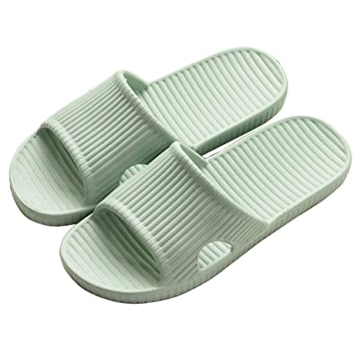 1e74741927402a Shower Slippers for Men and Women Indoor Floor Sandal Slippers Non-Slip  Bath Slippers for