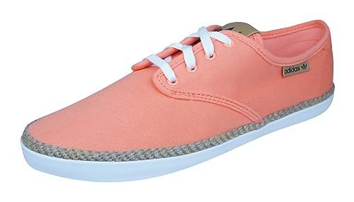hot sales 2e959 1fcc5 Adidas Originals Adria PS Espadrile Zapatillas de Deporte para mujer-Orange -37.5