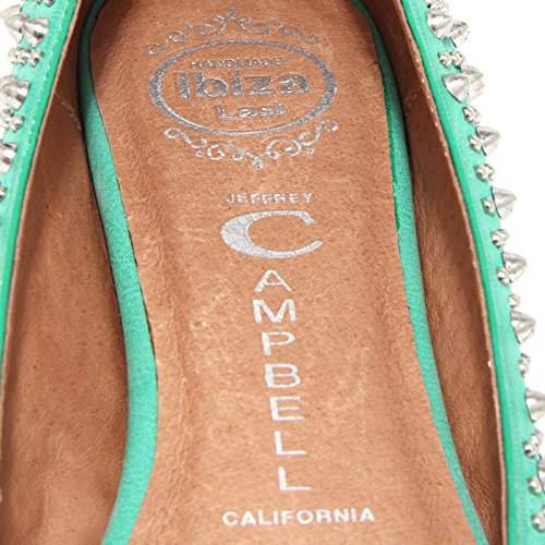 shoes donna ballerina Verde JEFFREY women 8P MARTONI CAMPBELL scarpa 49707 BORCHIE wY6x0w